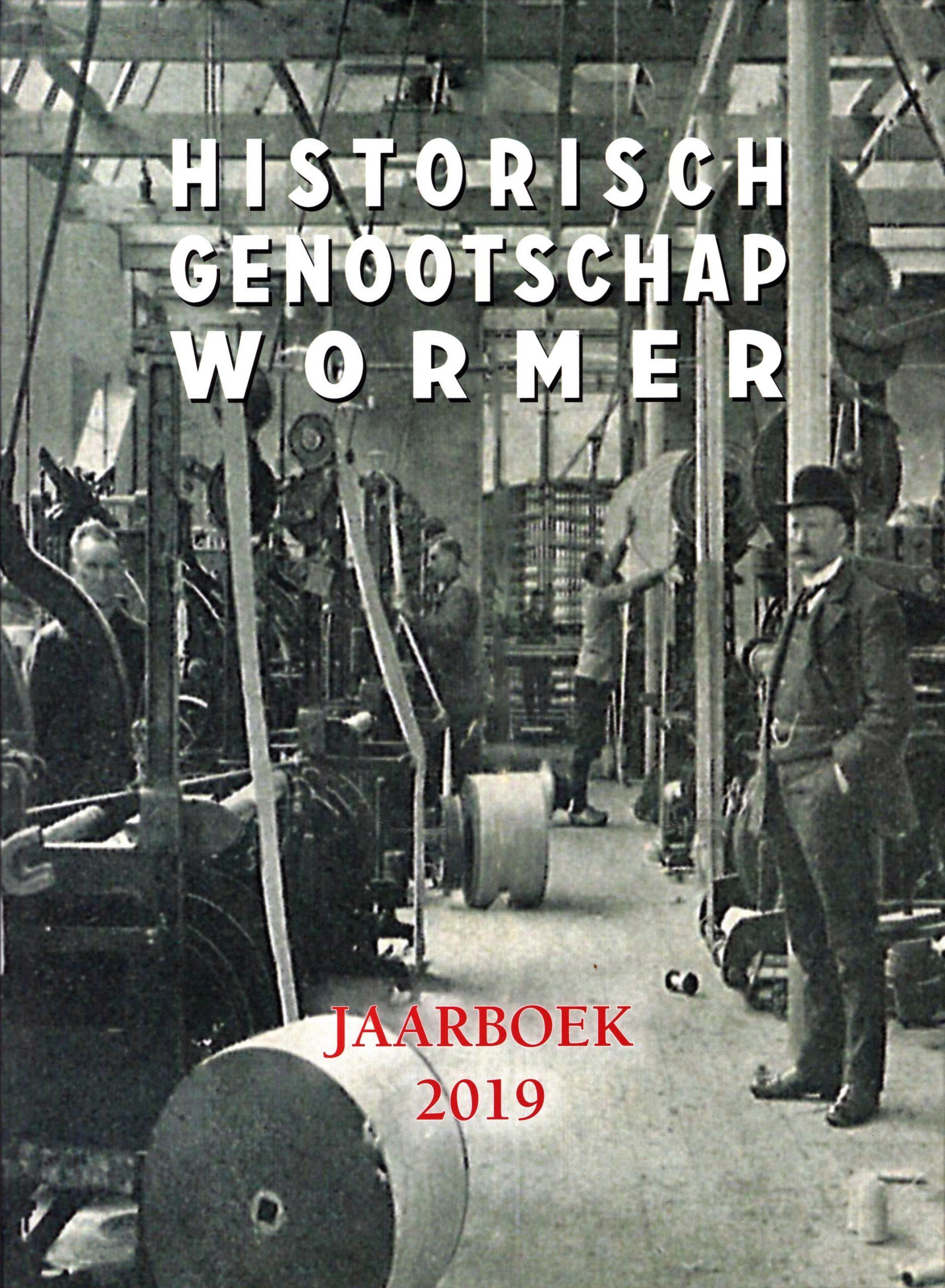 Historisch genootschap Wormer Jaarboek 2019